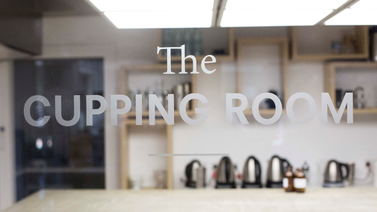The Cupping Room signage