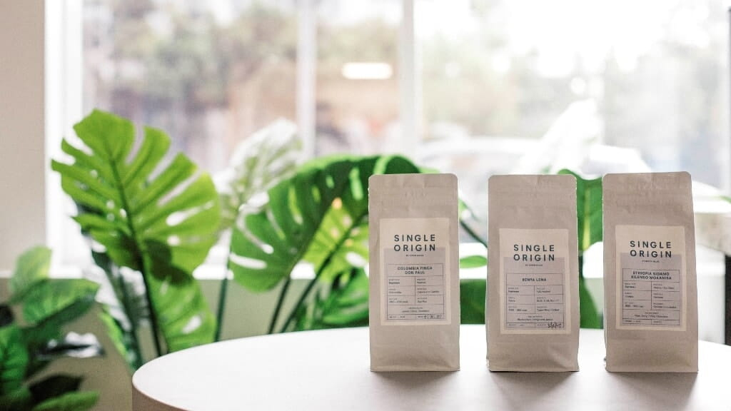 Single Origin Coffee Packages