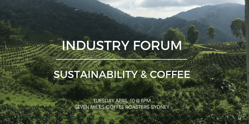 sustainability and coffee