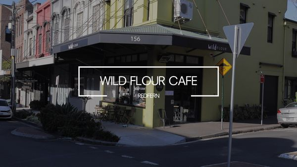 wild flour cafe redfern nsw