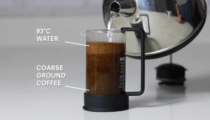 coffee plunger french press brew guide