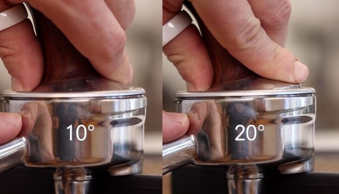 angled tamp side by side