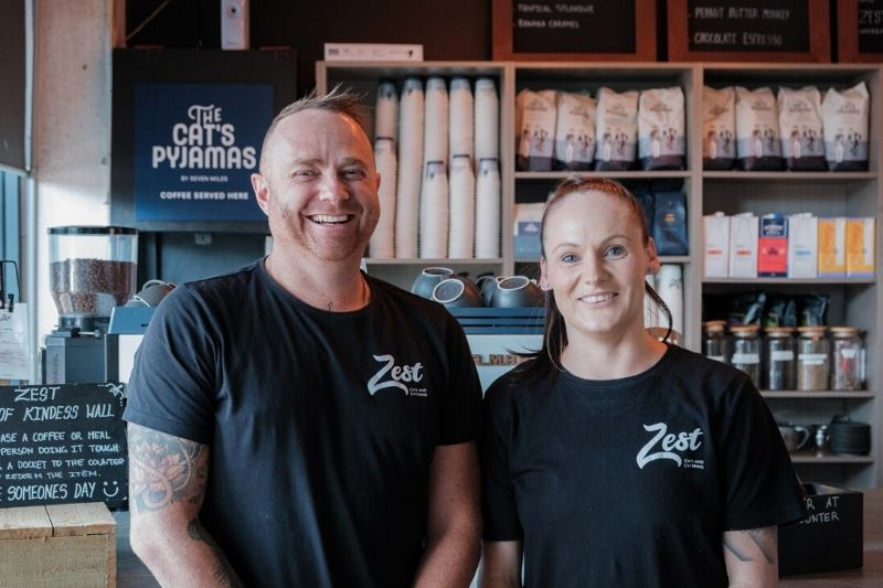 Zest cafe nowra nsw team